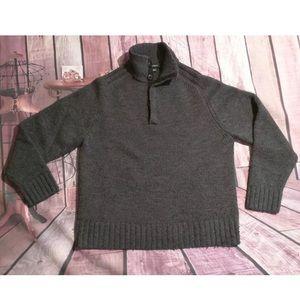 J. Crew Men's Sweater Size L Grey